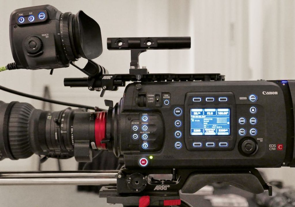Canon C-700 with Codex recorder, 17-120mm T2.8 zoom