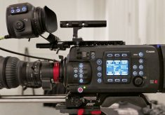 16 pix of a Canon C700 (plus 1 of 2 Panasonics)