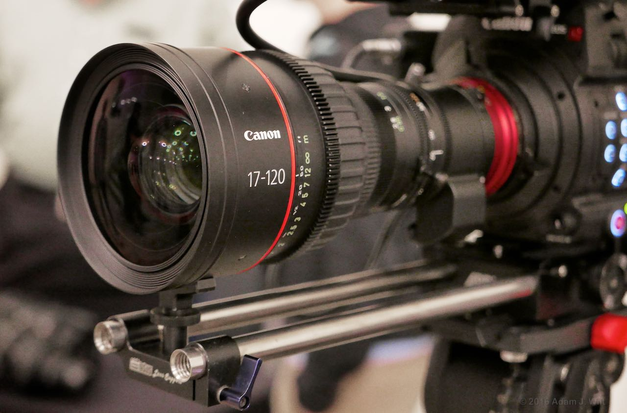 Canon 17-120mm T2.8 zoom lens