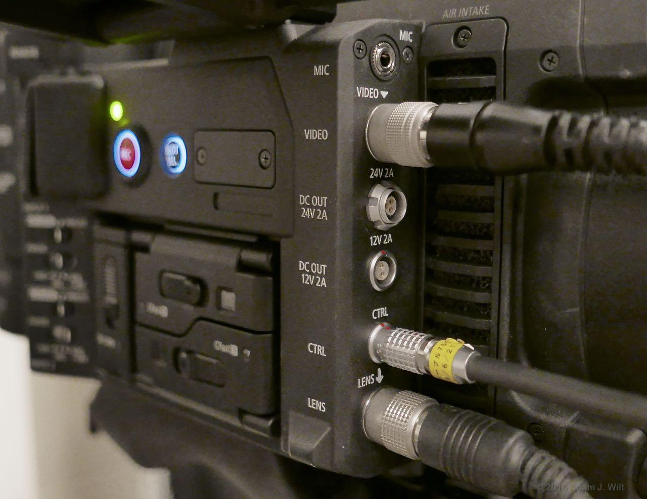 C700 left front connectors