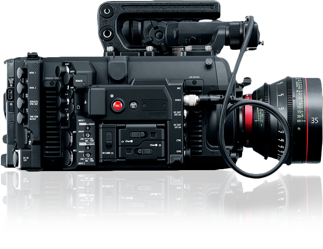 Canon Shows Off EOS C700 Camera: NAB 2017 Video 1