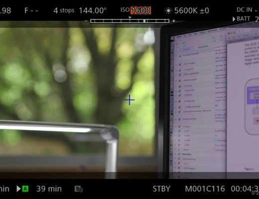 EVF FUNC menu with ISO selected