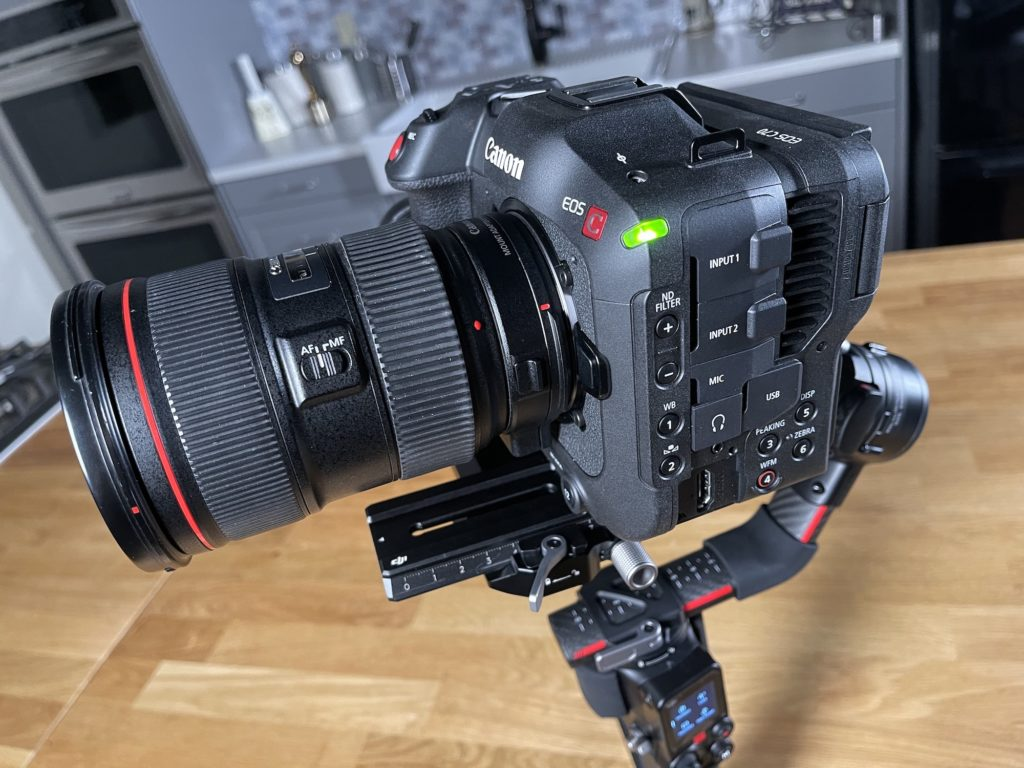 Is the Canon C70 a viable cinema camera or just another entry in a crowded field? 1