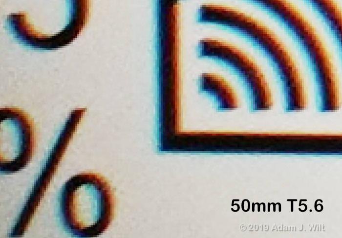 corner CA, 50mm
