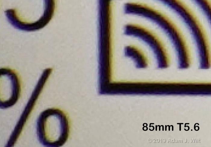 corner CA, 85mm