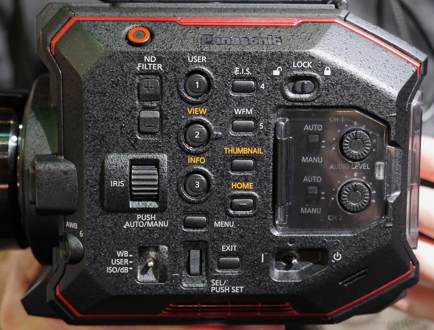 EVA1 side panel