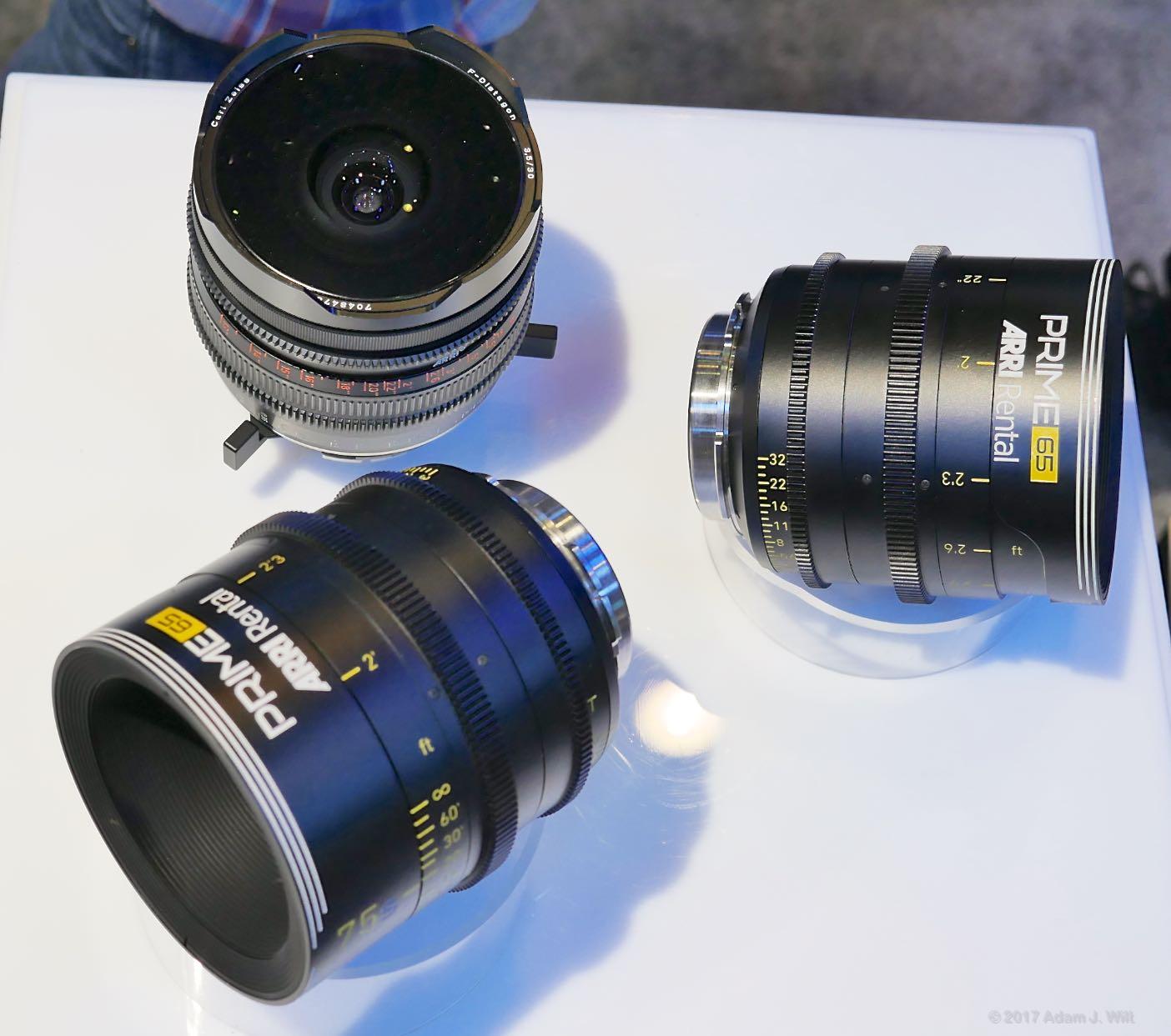 ARRI large-format lenses