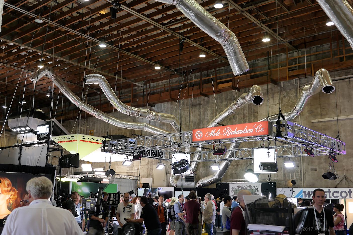 Studio air conditioning at Cine Gear Expo