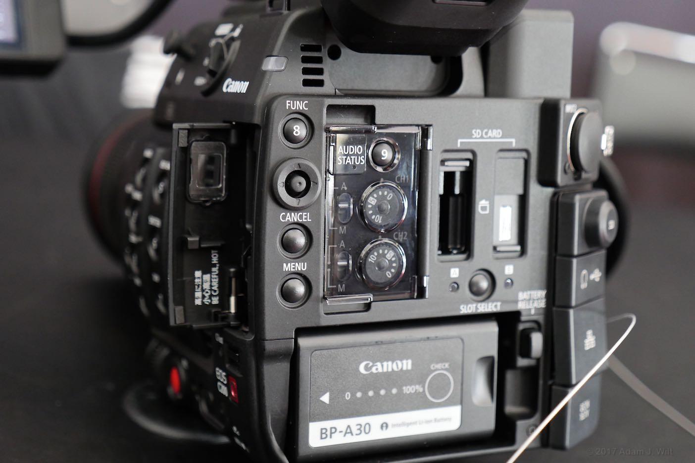 C200 rear panel