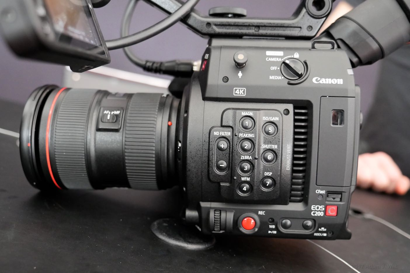 Canon C200 at Cine Gear Expo