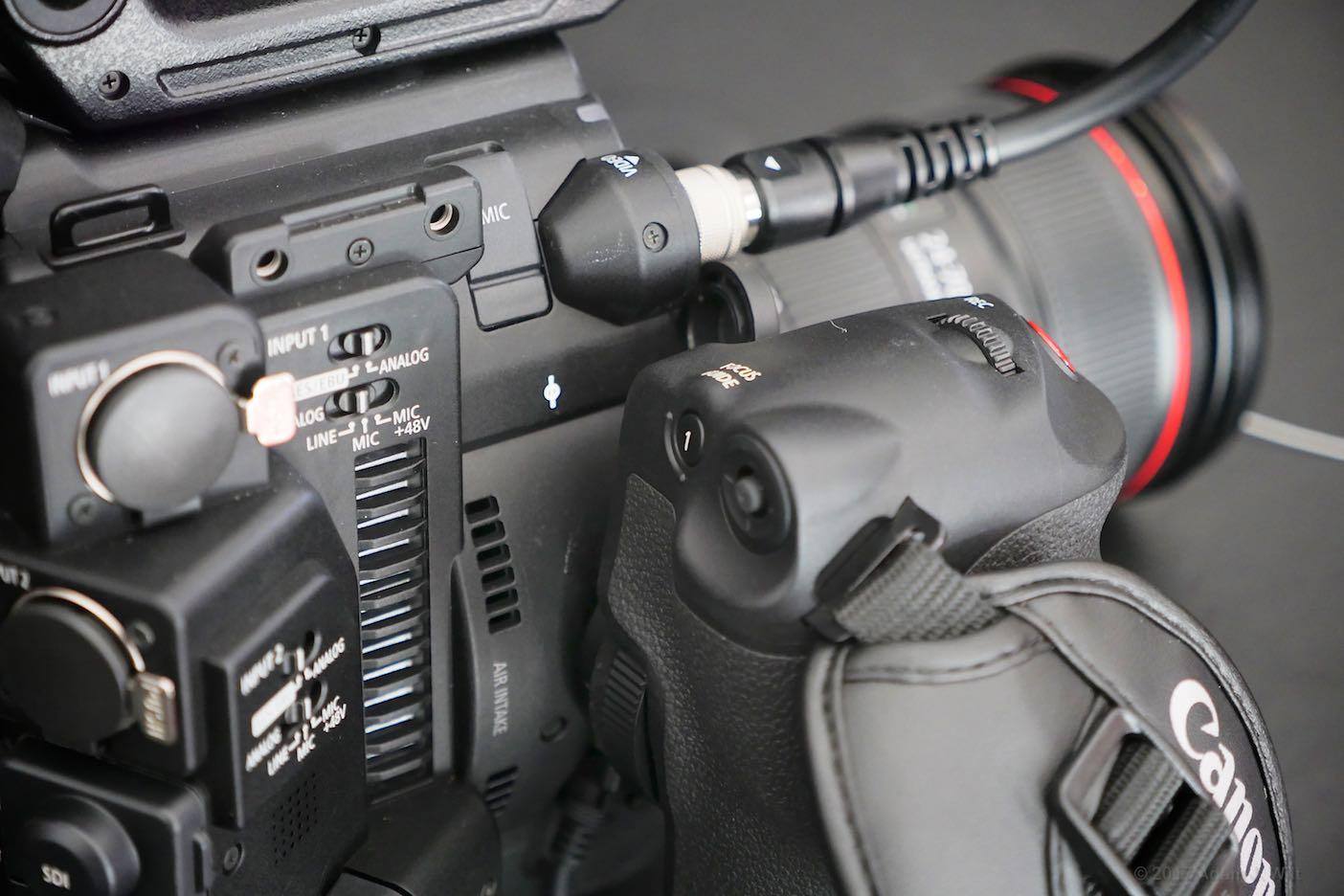 C200 side grip