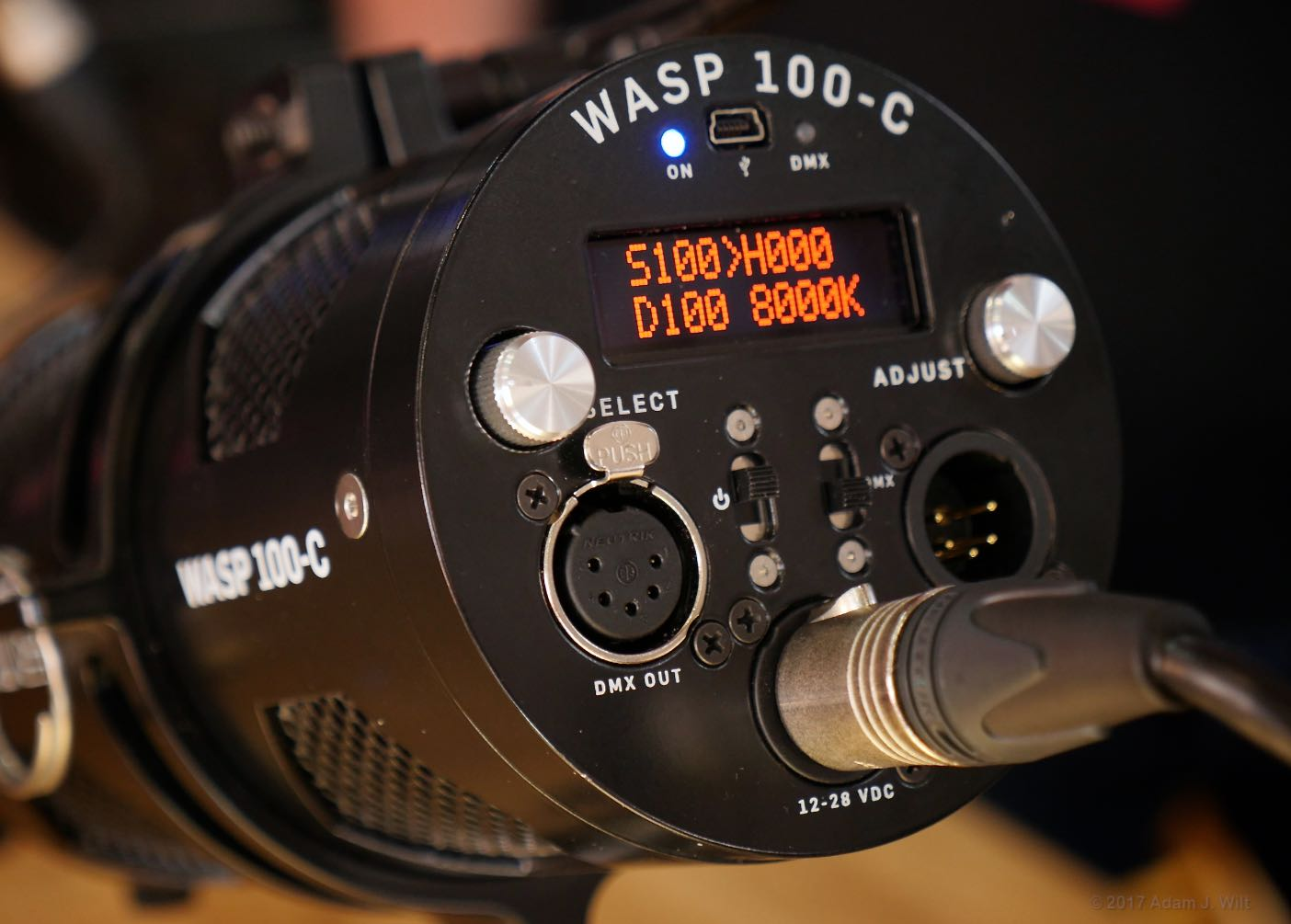 WASP 100-C controls