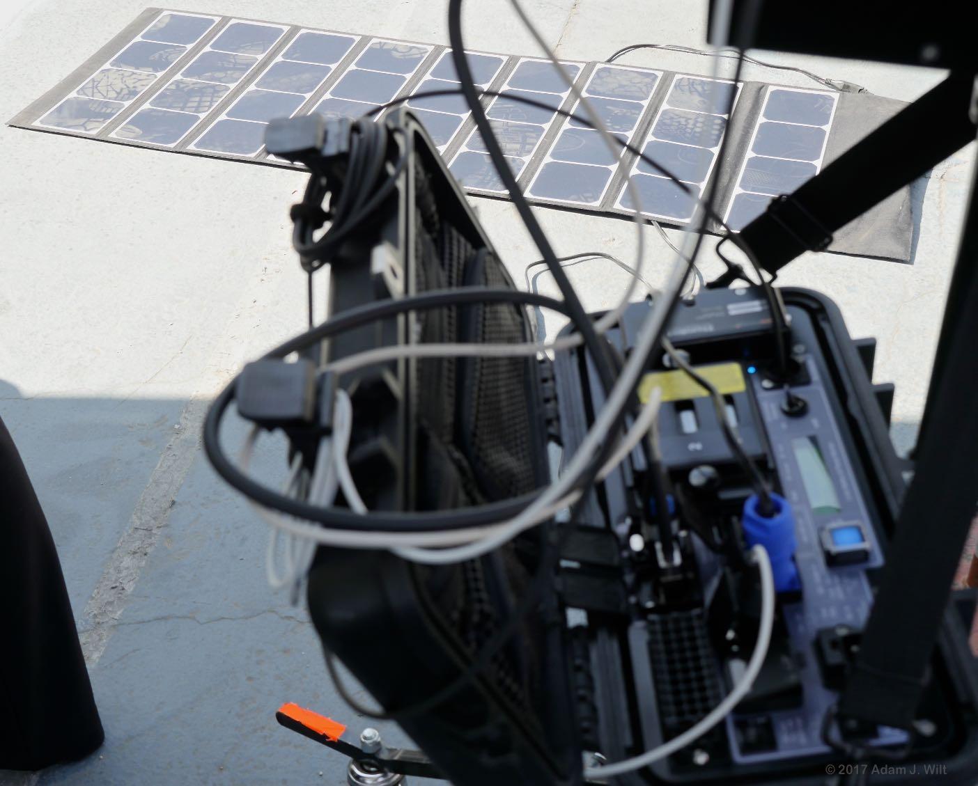 Acromove ThunderPack with solar-power array