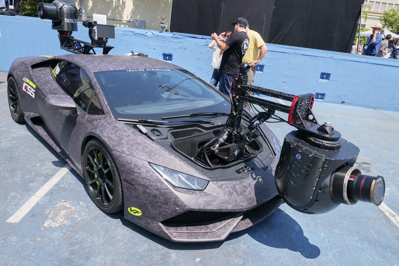 Lamborghini camera car