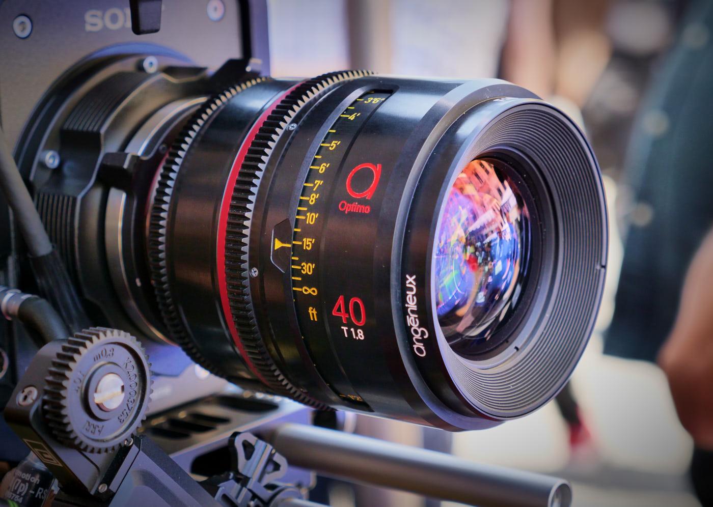 Angénieux Optimo 40mm T1.8 prime