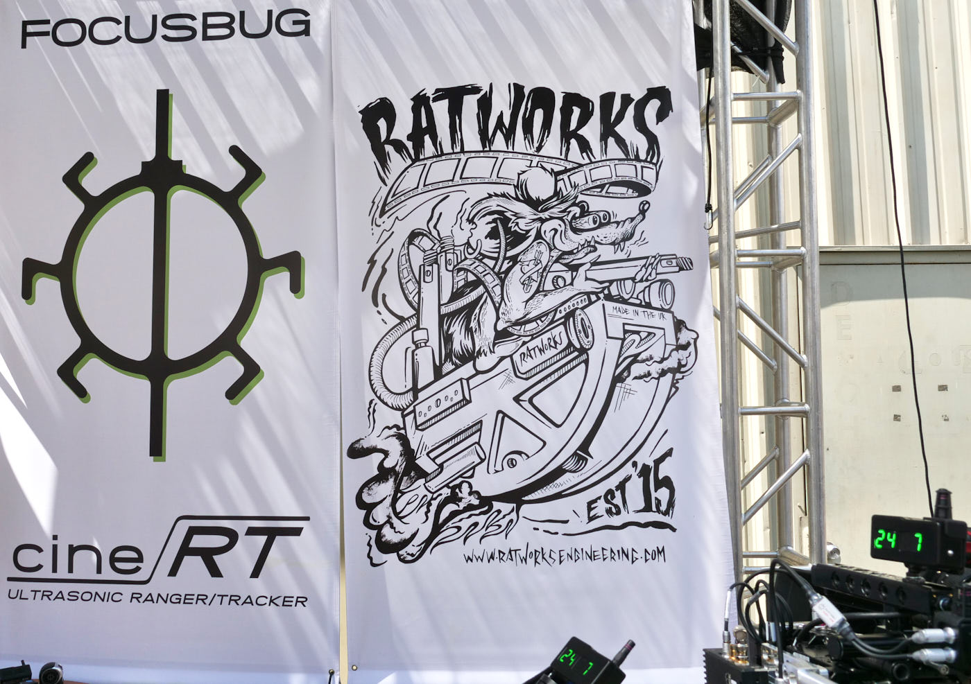 cineRT and RatWorksEngineering banners