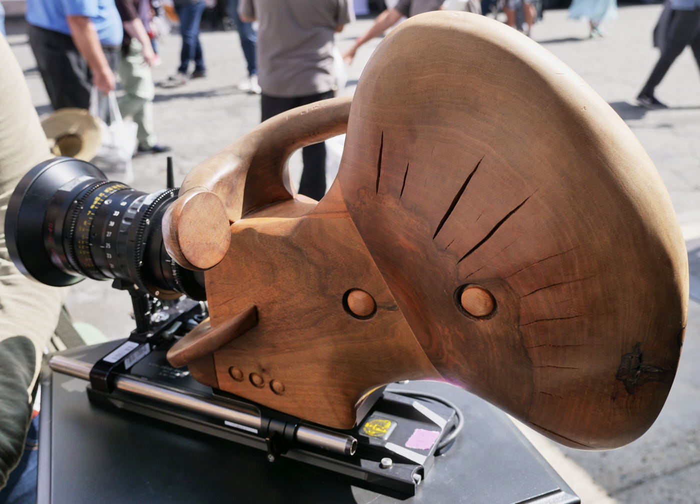 CMotion's wooden camera