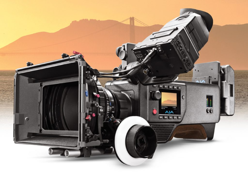 AJA Releases v1.2 Firmware for CION™ Production Camera at NAB 2015 1