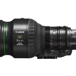 NAB 2019: Canon Image Stabilization in new 8.5-128mm F/2.5 B4 4K Lens 1