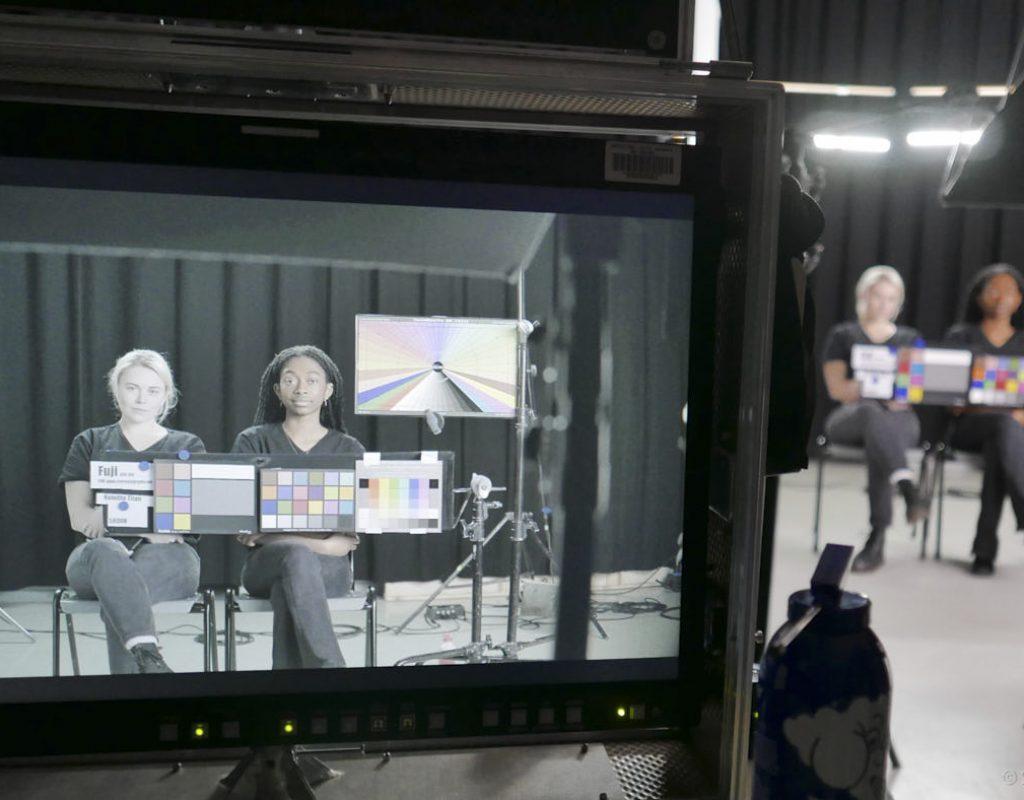 Test scene, seen through a GFX100
