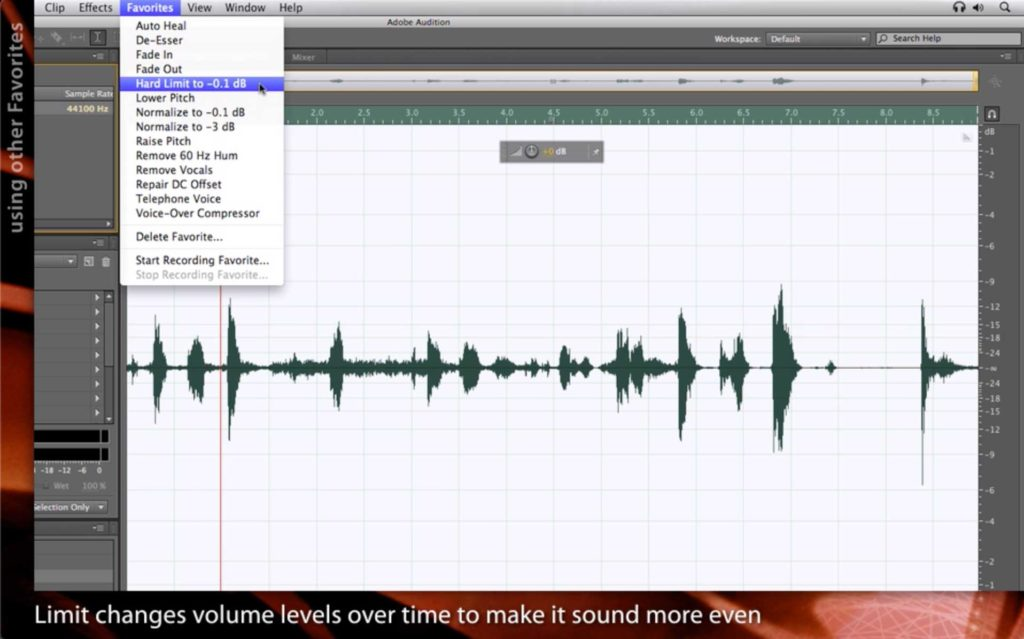 After Effects Classic Course: Integrating with Adobe Audition 1