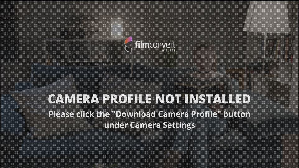 Filmconvert Nitrate Camera Profile