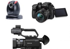 How to pick the best cameras for your live TV studio