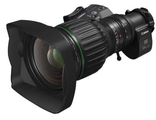 Canon CJ17ex6.2B: a new portable 4K broadcast zoom lens