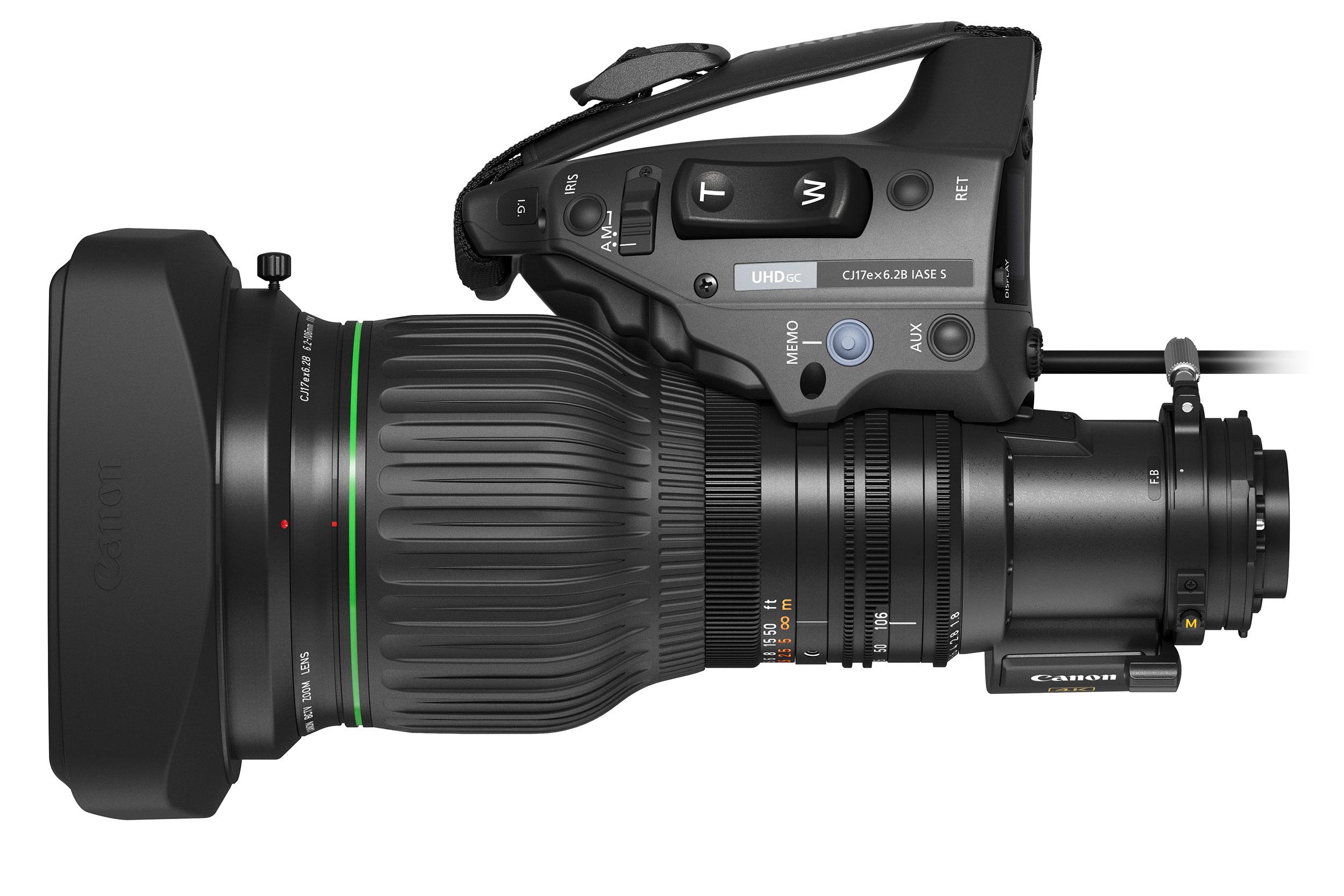 Canon CJ17ex6.2B: a new portable 4K broadcast zoom lens