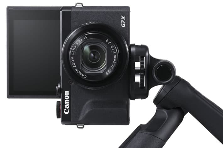 Canon's new Tripod Grip and Stereo Microphone for vloggers