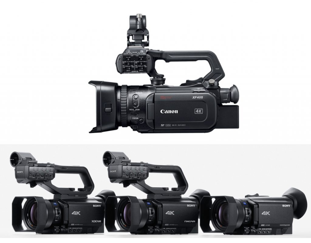 New 4K UHD camcorders from Canon & Sony: Let's compare 7