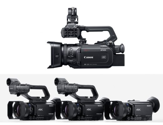 Traditional camcorders in the era of mirrorless/HDSLR cams