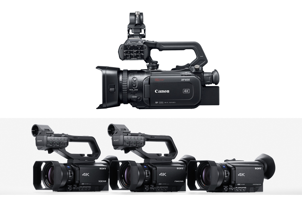 Traditional camcorders in the era of mirrorless/HDSLR cams 12
