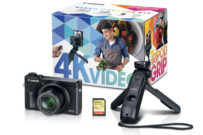 Canon introduces three new content creator kits for vloggers 7