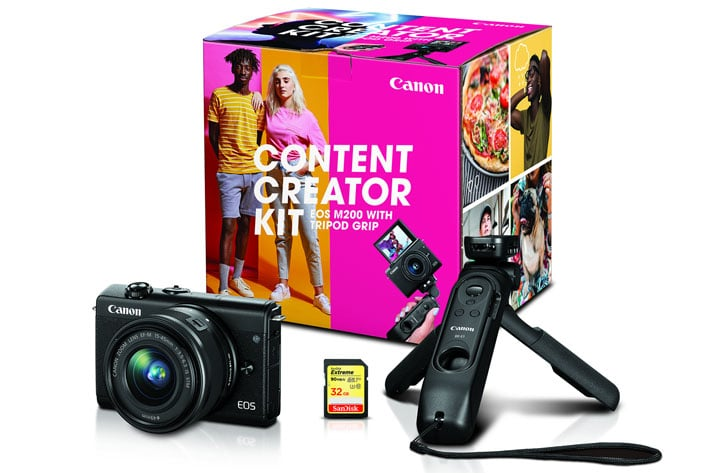 Canon introduces three new content creator kits for vloggers