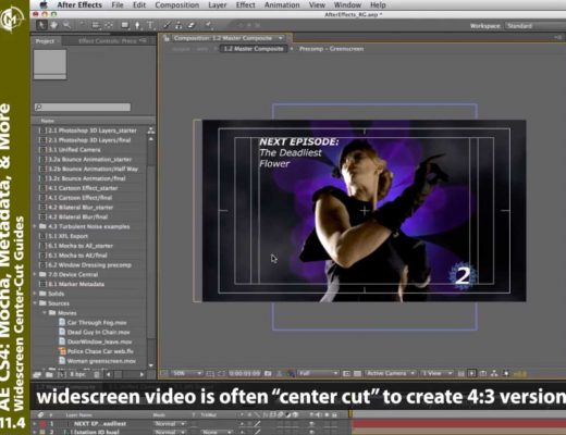 After Effects center cut preferences