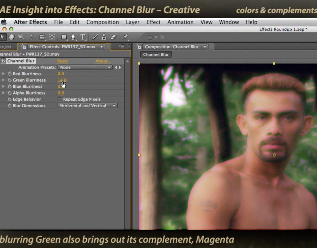 Classic Course: Channel Blur 1