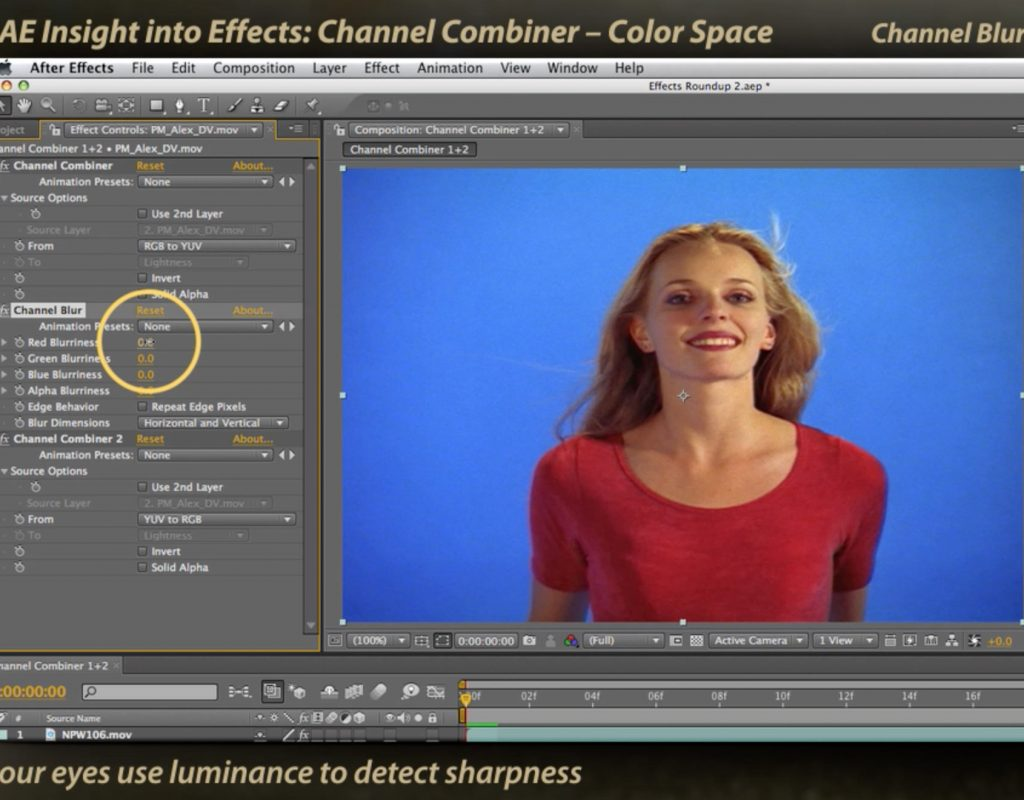 After Effects Channel Combiner