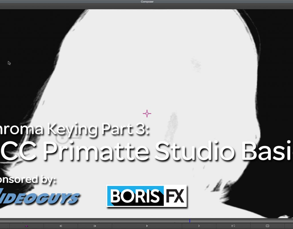 BCC Primatte Studio AVX is an essential tool for Media Composer editors