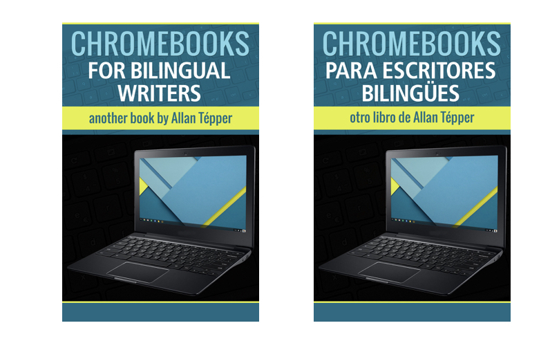 Chromebooks for bilinguals-2 covers