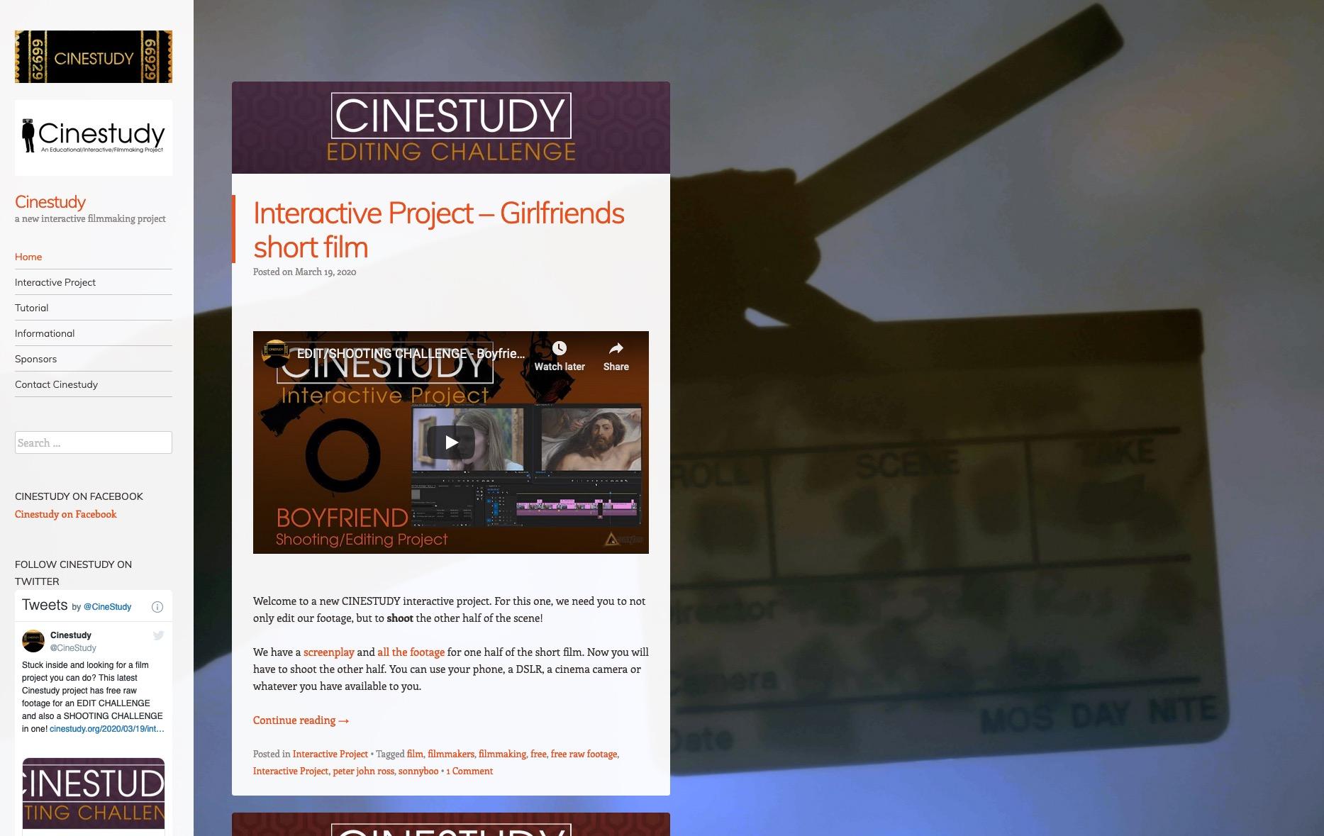 Cinestudy splashscreen