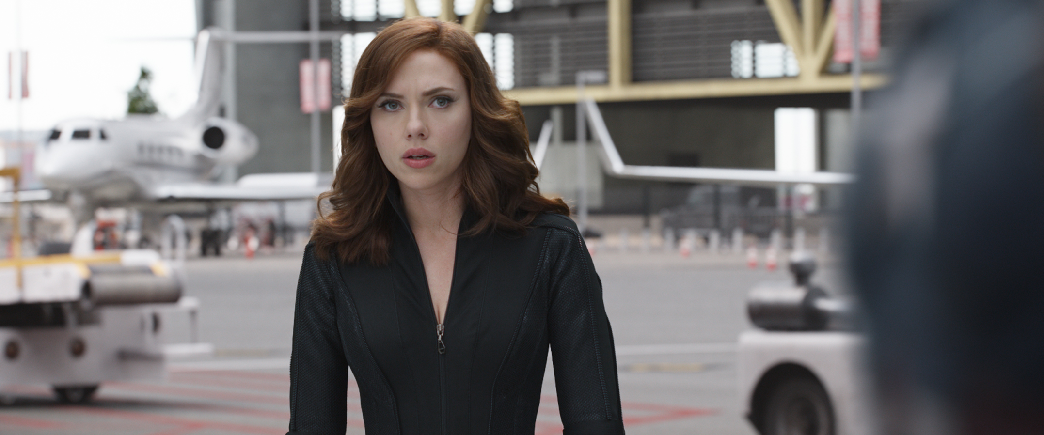 Marvel's Captain America: Civil War Black Widow/Natasha Romanoff (Scarlett Johansson) Photo Credit: Film Frame © Marvel 2016