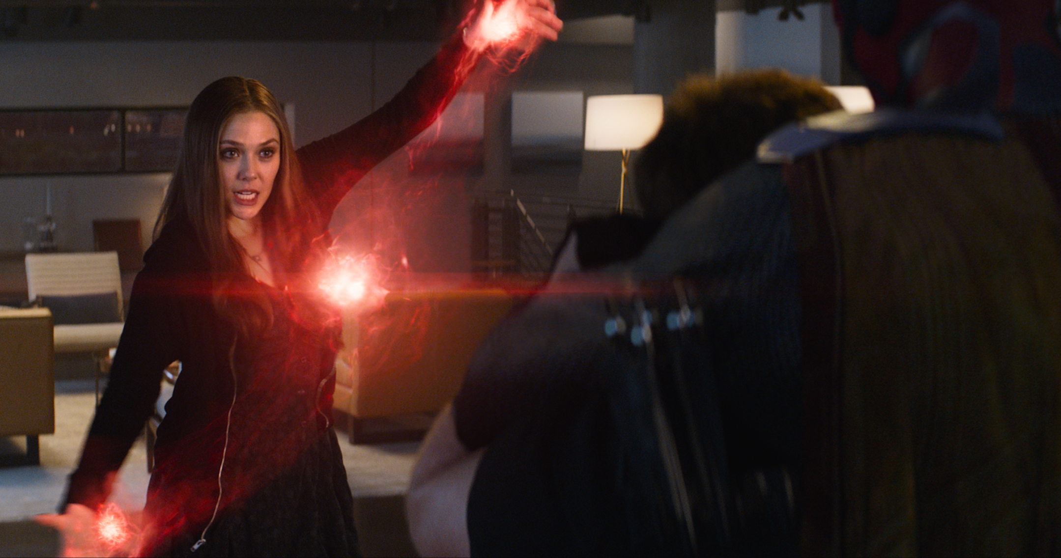 Marvel's Captain America: Civil War..Scarlet Witch/Wanda Maximoff (Elizabeth Olsen)..Photo Credit: Film Frame..© Marvel 2016