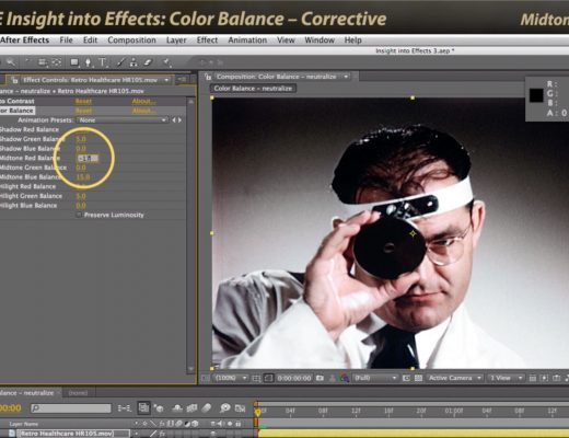 After Effects Classic Course: Color Balance 1 – Corrective 26