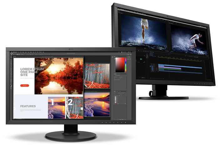 EIZO ColorEdge CS2740: first CS series monitor with 4K UHD