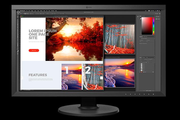 EIZO ColorEdge CS2740: first CS series monitor with 4K UHD