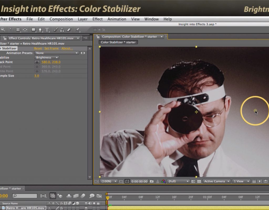 After Effects Classic Course: Color Stabilizer 1