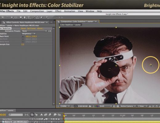 After Effects Classic Course: Color Stabilizer 6