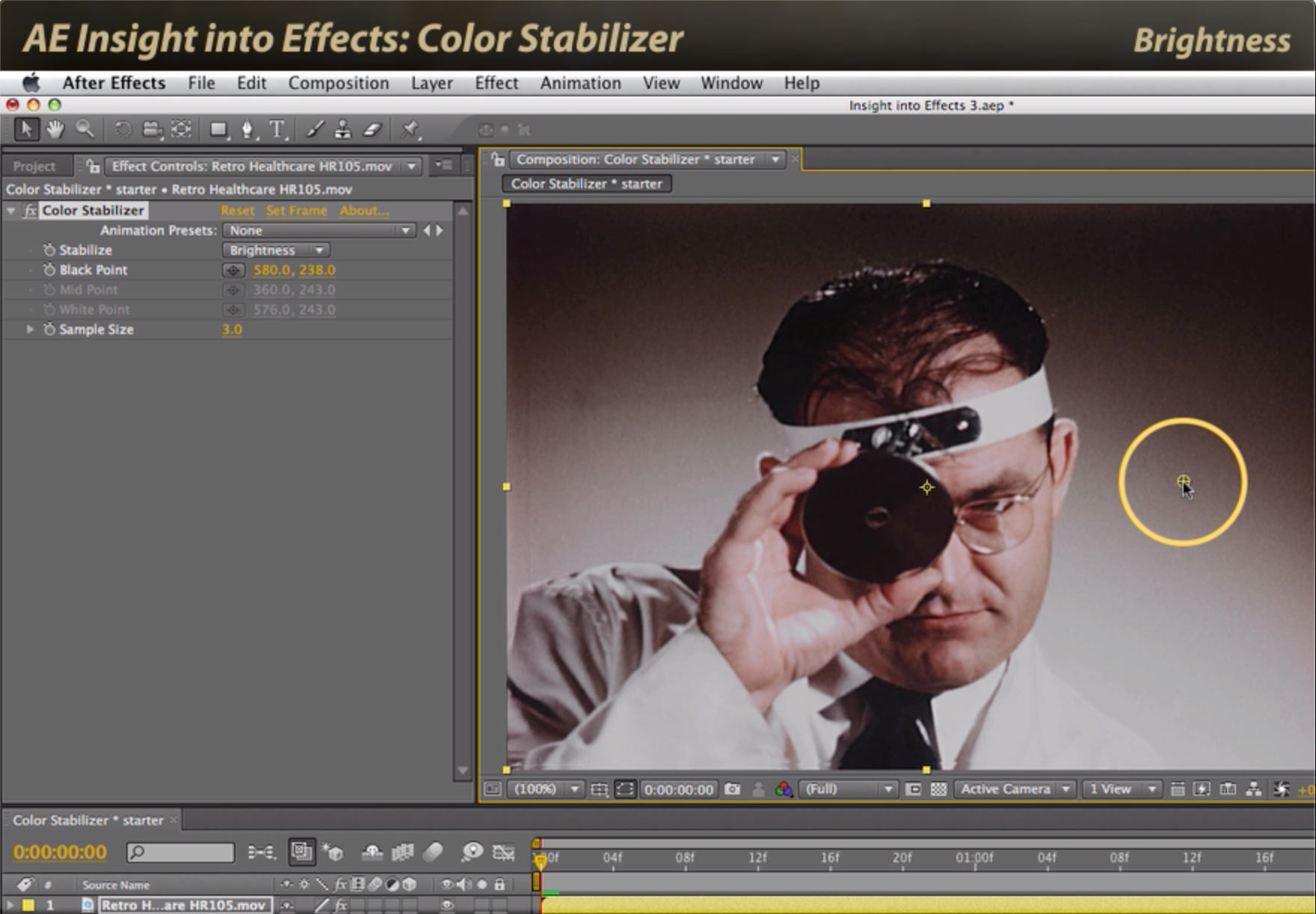 After Effects Classic Course: Color Stabilizer