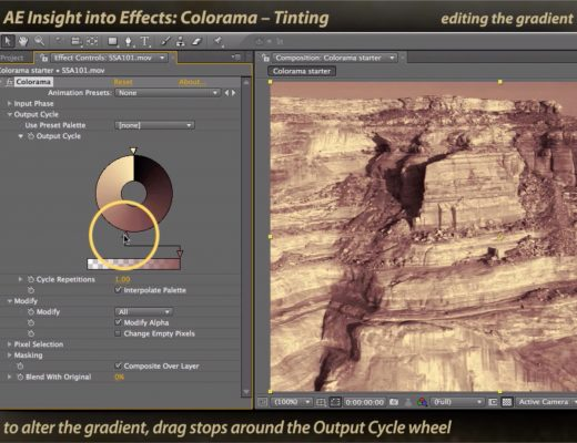 After Effects Classic Course: Colorama 2 – Tinting 11